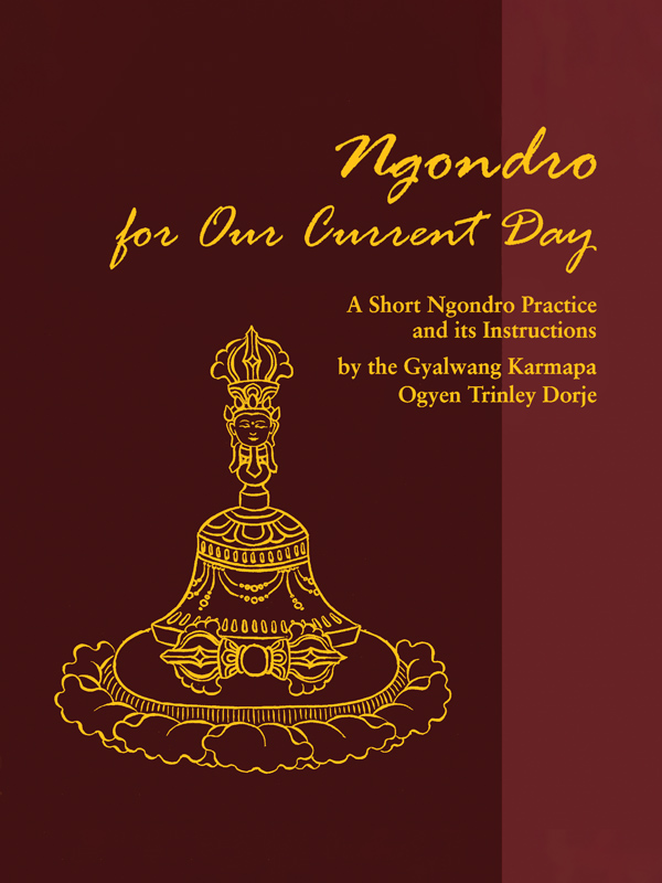 Ngondro for Our Current Day