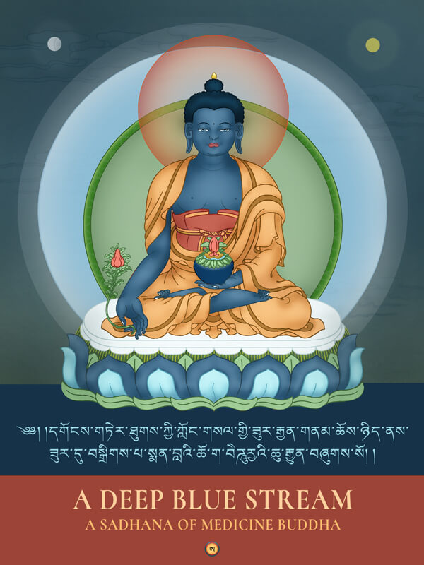 "Featured image for ""A Deep Blue Stream. A Sadhana of Medicine Buddha"""